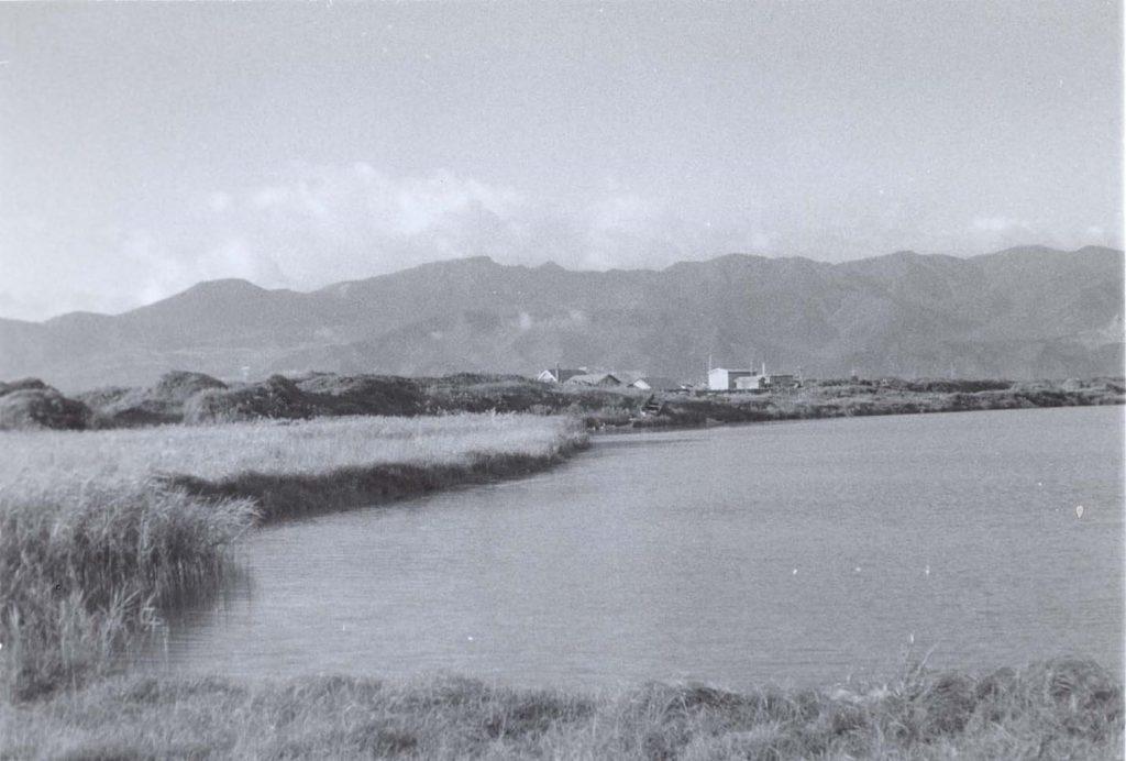 越崎宗一氏撮影。昭和40年ころの「旧オタルナイ川推定値」